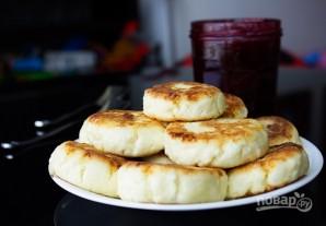 Пышные сырники в духовке - фото шаг 5