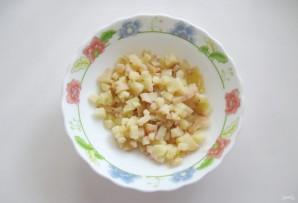 Винегрет с зеленой фасолью - фото шаг 1