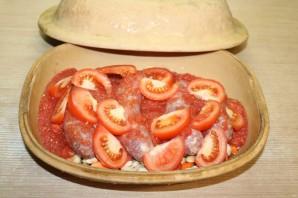 Фасоль с колбасками - фото шаг 10