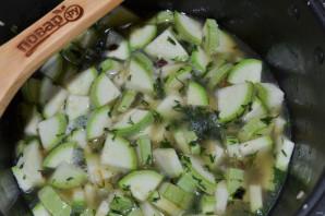 Рис с кабачками в мультиварке - фото шаг 7