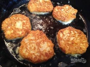 Картофельно-тыквенные драники с куриным фаршем - фото шаг 6