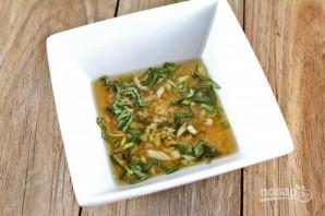 Порционный салат - фото шаг 3