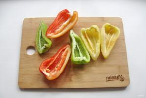 Перец сладкий в масле - фото шаг 2