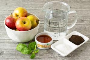 Яблоки моченые с солодом - фото шаг 1