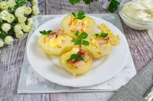 Запеченный хрустящий картофель с сыром - фото шаг 5