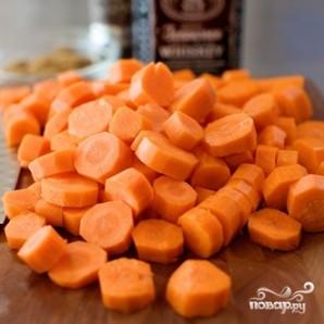 Морковь, глазированная в виски - фото шаг 1