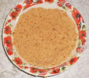 Чизкейк без выпечки с персиками - фото шаг 2