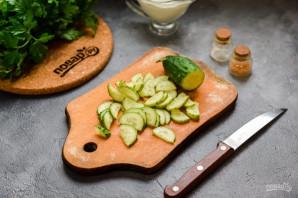 Салат из курицы и кукурузы - фото шаг 3