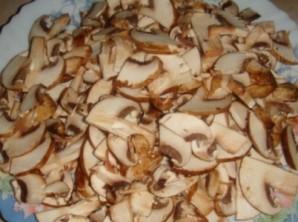 Салат с грибами отварными - фото шаг 2