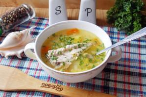 Суп из скумбрии с пшеном - фото шаг 14