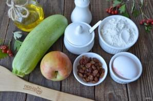 Оладьи из кабачков и яблок - фото шаг 1