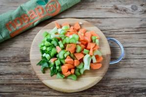 Густой томатный суп с фрикадельками - фото шаг 5