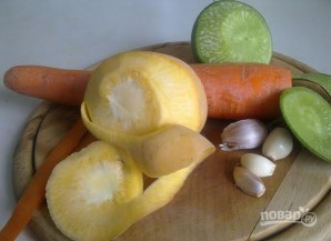 Салат из репы - фото шаг 2