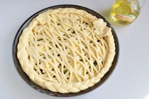 Пирог с мойвой и укропом - фото шаг 9