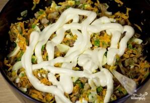 Салат печёночный - фото шаг 10
