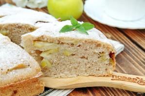 Диетический пирог с яблоками - фото шаг 9