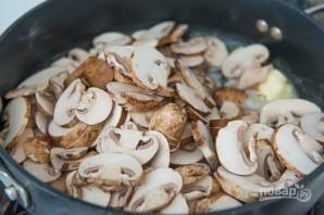 Фрикадельки из индейки в грибном соусе - фото шаг 4