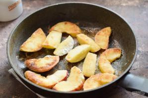 Жареные яблоки по-французски - фото шаг 4