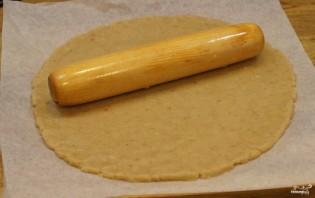 Грушевый пирог из песочного теста - фото шаг 3