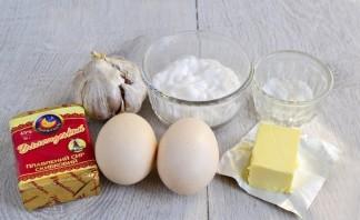 Салат с плавленым сыром - фото шаг 1