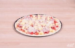 Пицца с салями - фото шаг 11