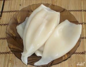 Кальмар, маринованный по-корейски - фото шаг 1