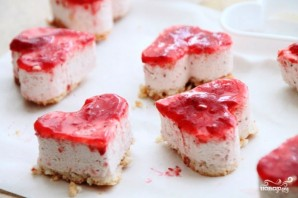 Кокосово-клубничное пирожное - фото шаг 10