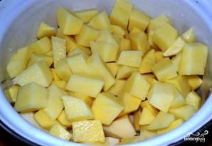 Картошка, запеченная с горчицей - фото шаг 2