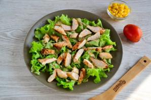 Салат с гренками - фото шаг 9