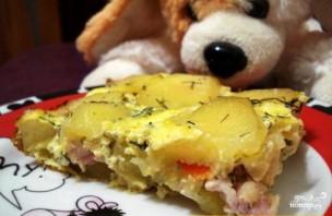 Картофельная запеканка с куриной грудкой - фото шаг 5