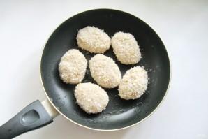 Котлеты с сыром без яиц - фото шаг 4