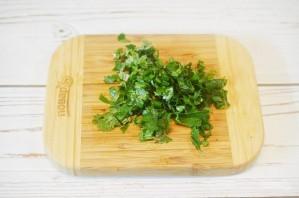 "Овощной салат с булгуром ""Кысыр"" - фото шаг 6"