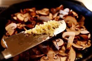 Слоеная пицца с грибами - фото шаг 3
