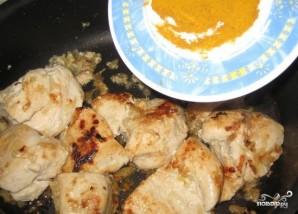 Курица по-тайски с рисом - фото шаг 4