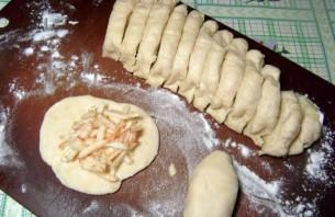 Постные пирожки на скорую руку - фото шаг 4