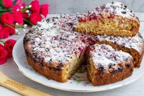 Постный пирог с клюквой - фото шаг 7