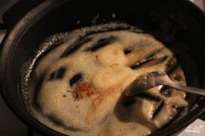 Тушеная говядина в сметанном соусе - фото шаг 5
