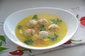 Куриный суп с сырными шариками - фото шаг 16