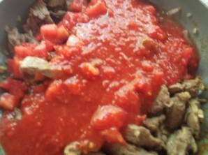 Баклажаны с мясом - фото шаг 5