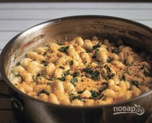 Макароны в сырном соусе - фото шаг 5
