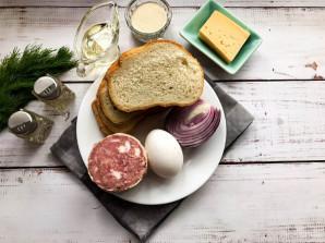 Горячие бутерброды с манкой