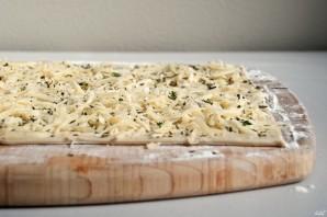 Слоеная сырная палочка  - фото шаг 2