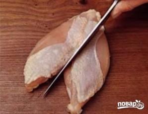 Куриные грудки в кефире - фото шаг 3