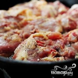 Паста Пенне с курицей и соусом Маринара - фото шаг 1