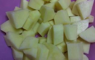 Вегетарианский рассольник с рисом - фото шаг 2