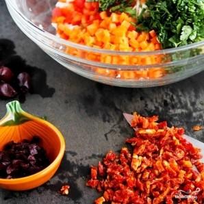 Легкий салат на ужин - фото шаг 4