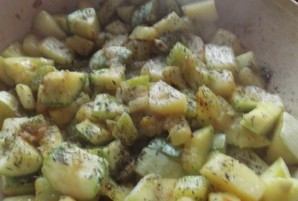 Суп из кабачков с грибами   - фото шаг 2