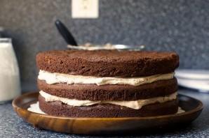 Вкусный французский шоколадный торт - фото шаг 8