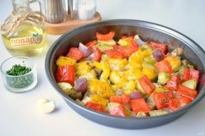 Салат из запечённых овощей - фото шаг 6