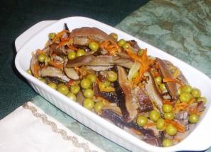 Салат из сушеных грибов - фото шаг 3